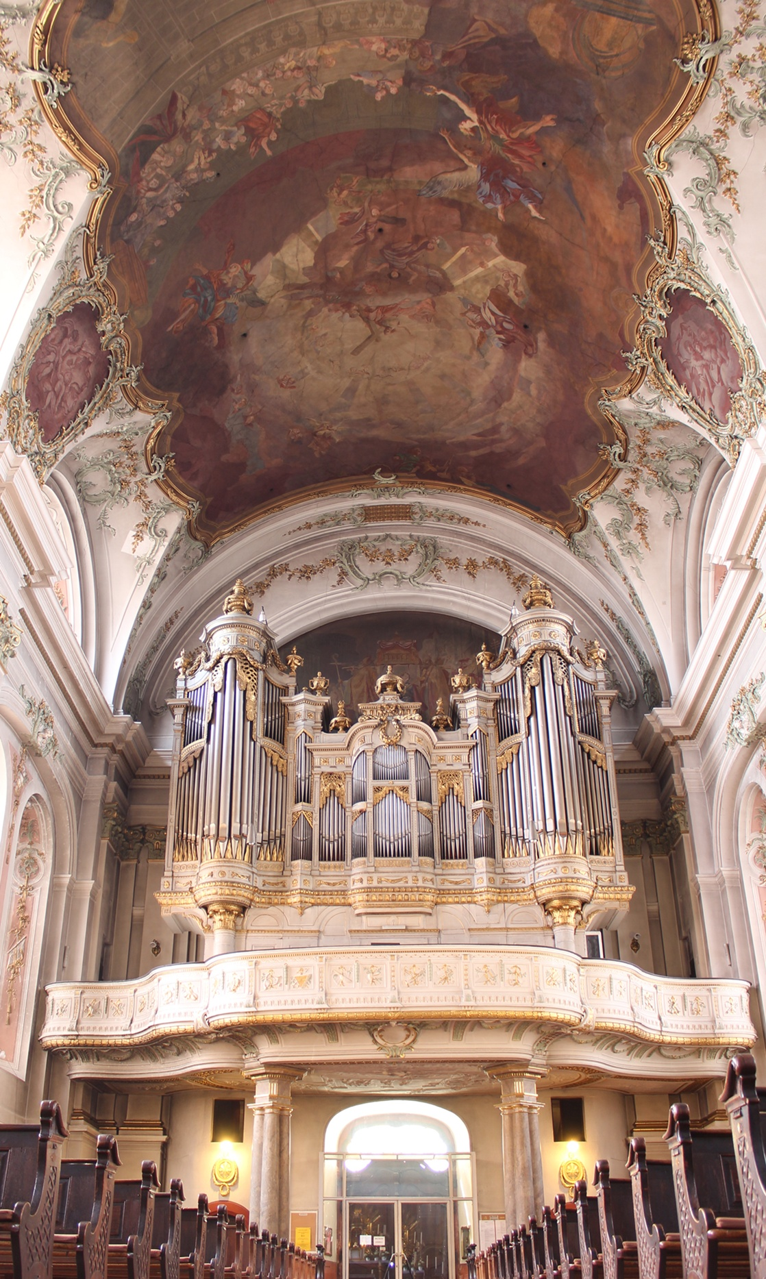 Dateimainz St Ignaz Orgel 2jpg Organ Index Die Freie